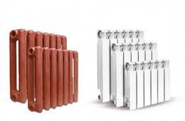 Чугунные или алюминиевые радиаторы?